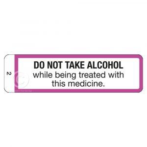 PSA Label No.2 -1000 Labels