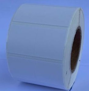 Thermal 2 across POS Label -white- 5ROLL/CTN
